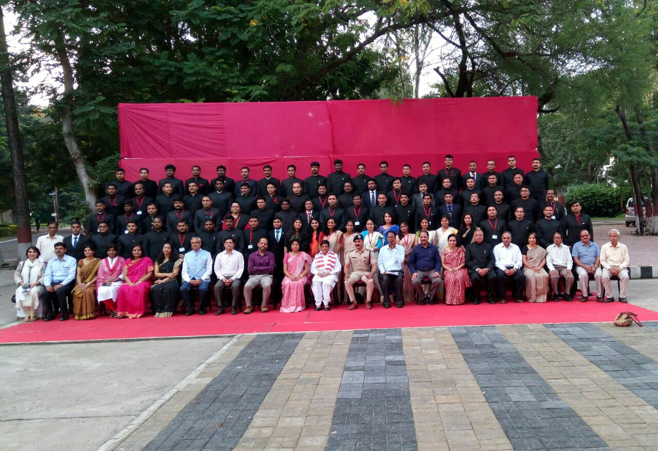 92nd Foundation Course for All India Services provationers with Hon'ble Lieutenant Governor of Puducherry Smt. Kiran Bedi