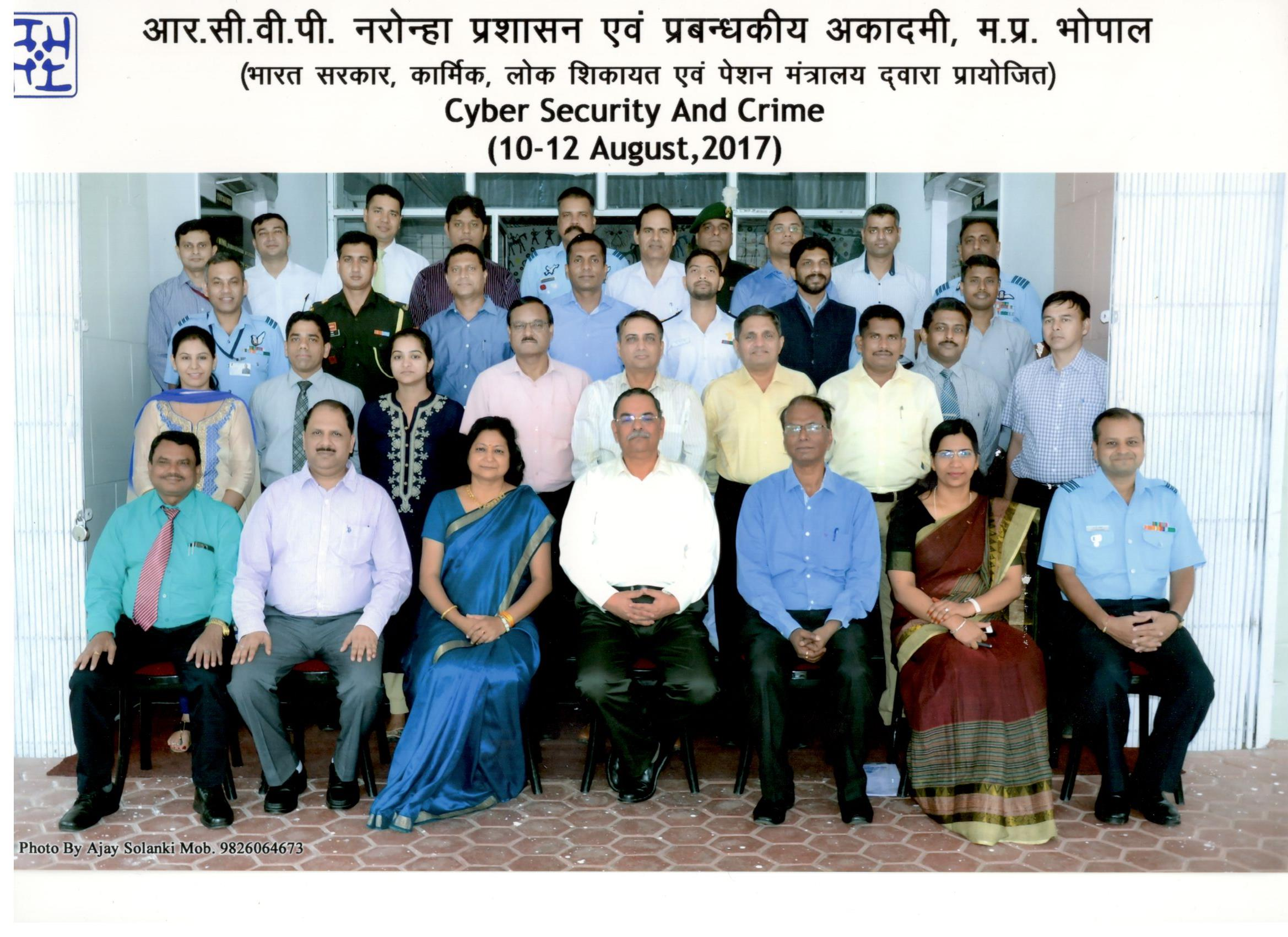 Defence Officers with Smt. Kanchan Jain, Director General Academy of Administration